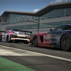 Silverstone podium in 24H Series